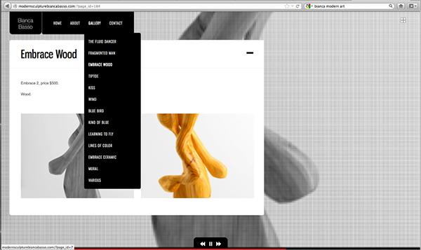 Bianca basso website portfolio