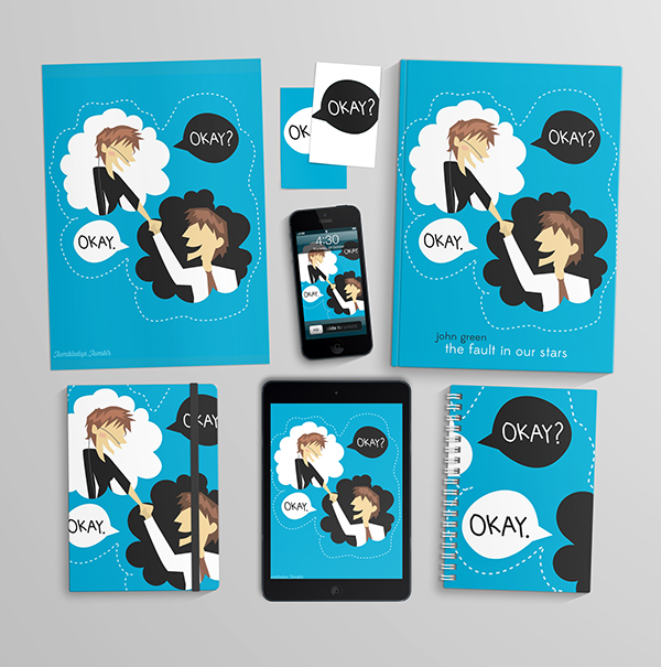 The Fault in Our Stars Redesign on Behance