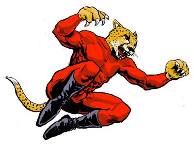 bolt cheetah Forrester IBM illsutration Comic Book