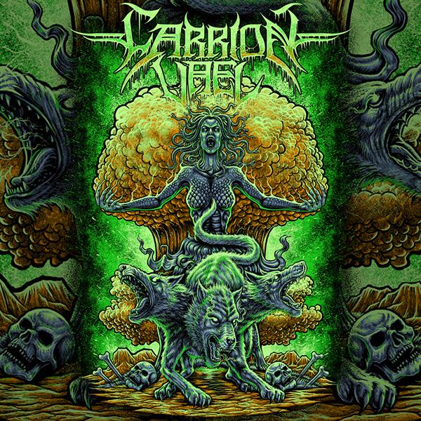 Medusa design for Carrion Vael