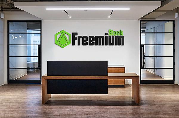 Free Office PSD Mockup Vol 12