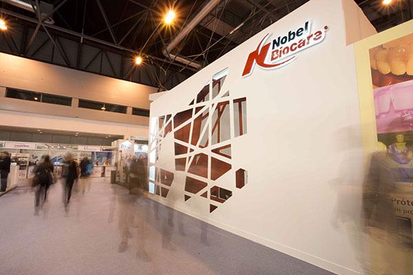 Exhibition Booth En Francais : Booth design nobel biocare expodental on behance