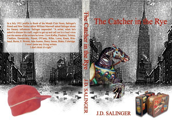 Book Cover Idea For Catcher In The Rye On Behance