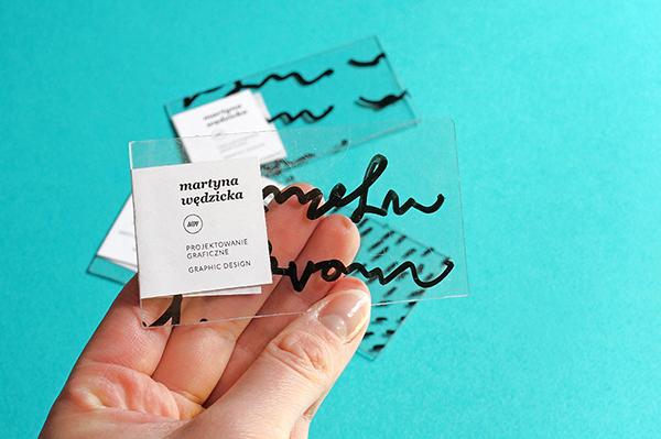 wedzicka business card self personal ID Gdansk poland