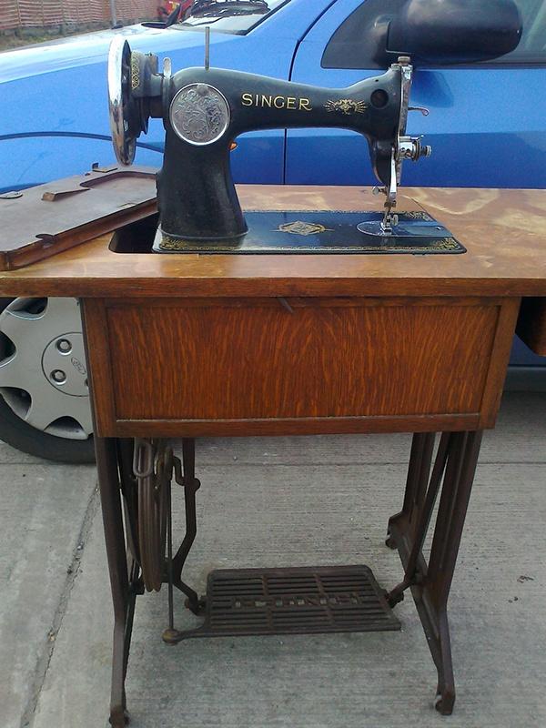 sewing machine restoration