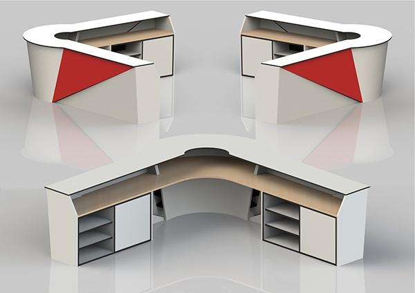 Gym Reception Desk Concept On Behance