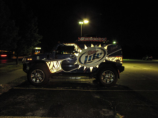 Comerica Wiring Instructions : Detroit tigers miller lite hummer full wrap on behance