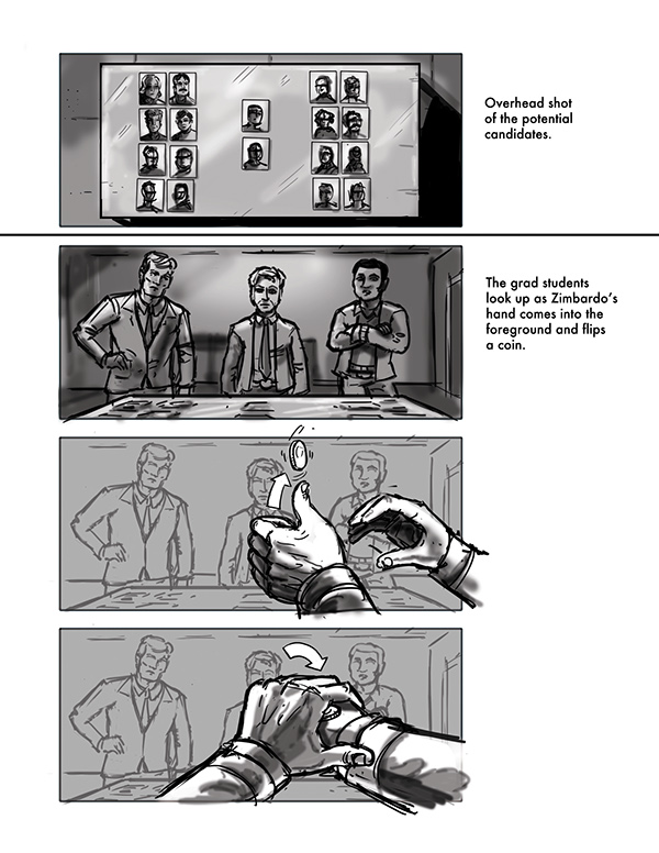 The Stanford Prison Experiment Film Storyboards On Scad Portfolios