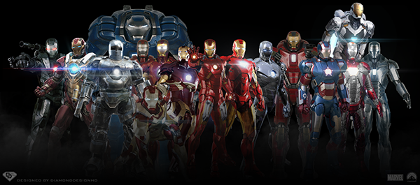 Iron Men Wallpaper On Behance