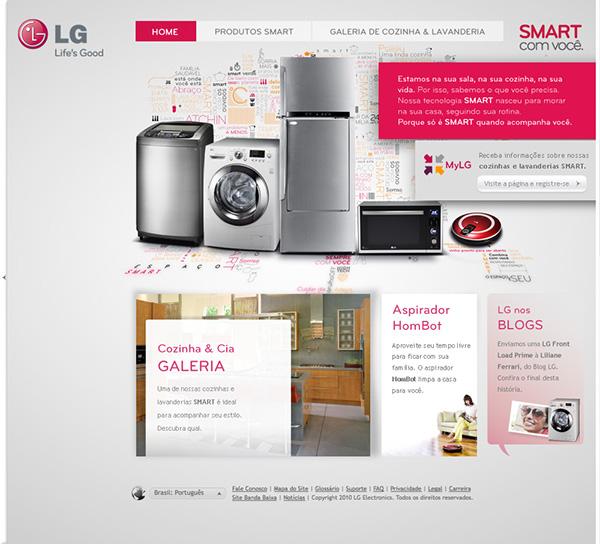 Lg Home Appliances On Behance
