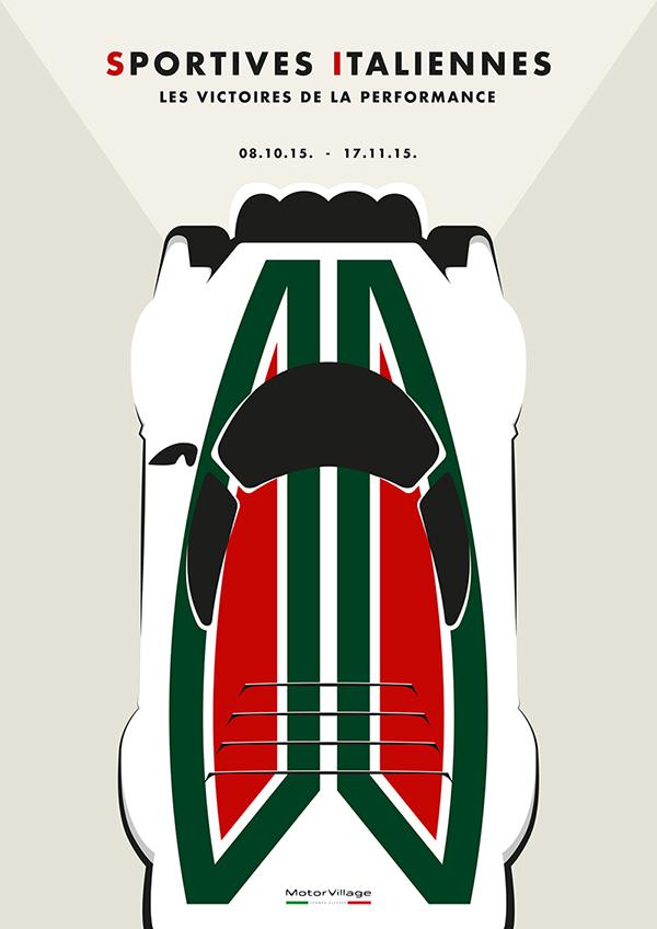 Alfa Romeo Posters On Pantone Canvas Gallery - Alfa romeo posters