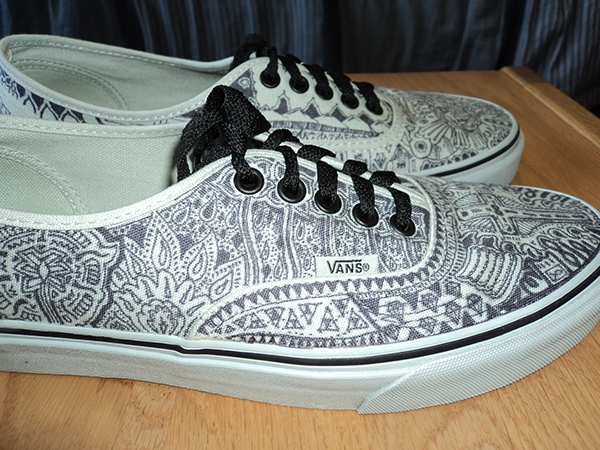 White Vans Drawings Thank You