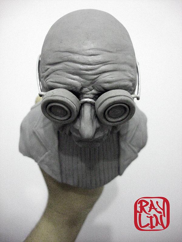 futurama matt groening david x.cohen professor farnsworth leela Zoidberg fry Amy sculpture ray lin comedy central toy art morbo nyc