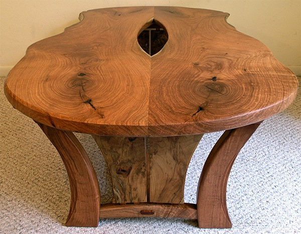 Live Edge Mesquite Coffee Table On Behance