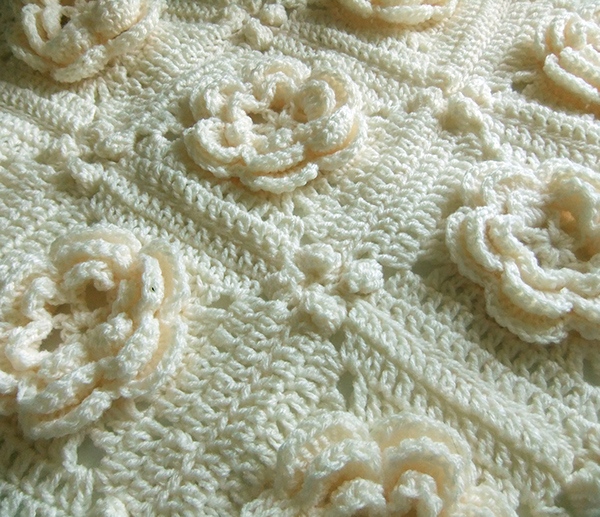 Rosanna - Irish Rose Afghan Block on Behance