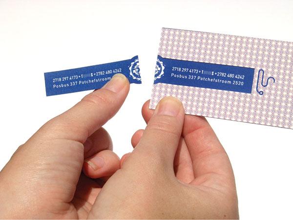 Doepa on behance interactive business card tear off colourmoves