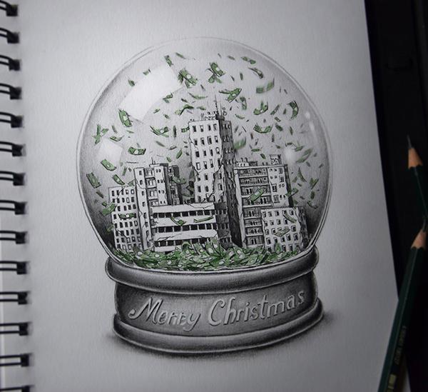 有設計感的15個聖誕節圖畫欣賞