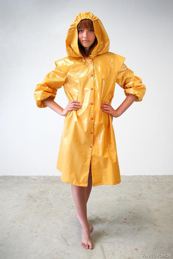 Fashion raincoat collection by NADIAKIRPA DESIGN LATVIA on Behance