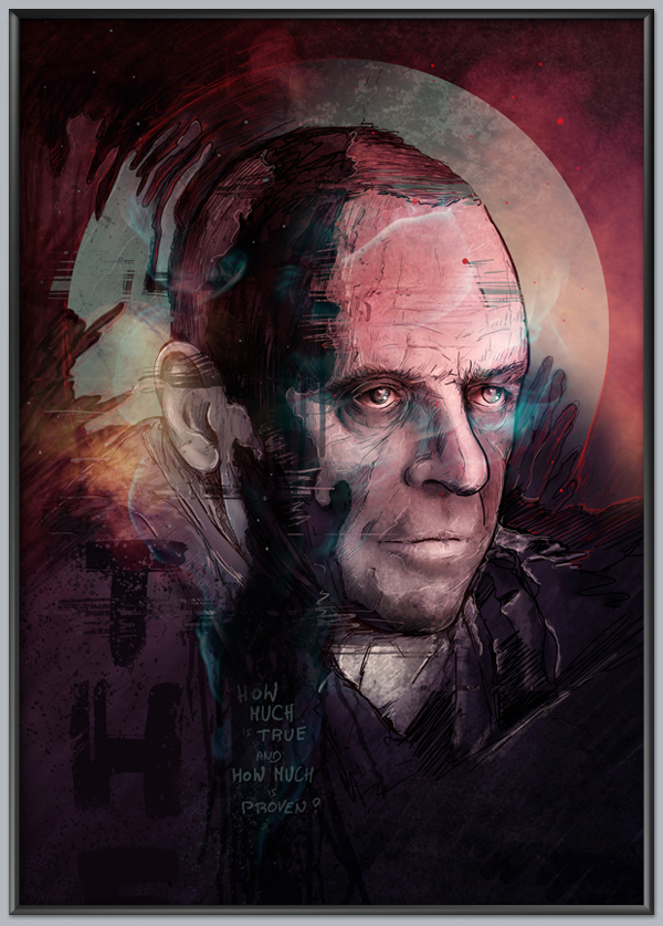 kaplon Paul Marcinkowski photoshop Illustrator vector color portraits tattoo face creative art