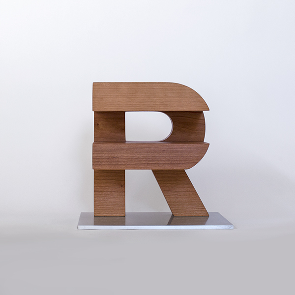 award,Sota,Fiona Ross,Typography Award,TypeCon,wood,3D,ARS Maquette