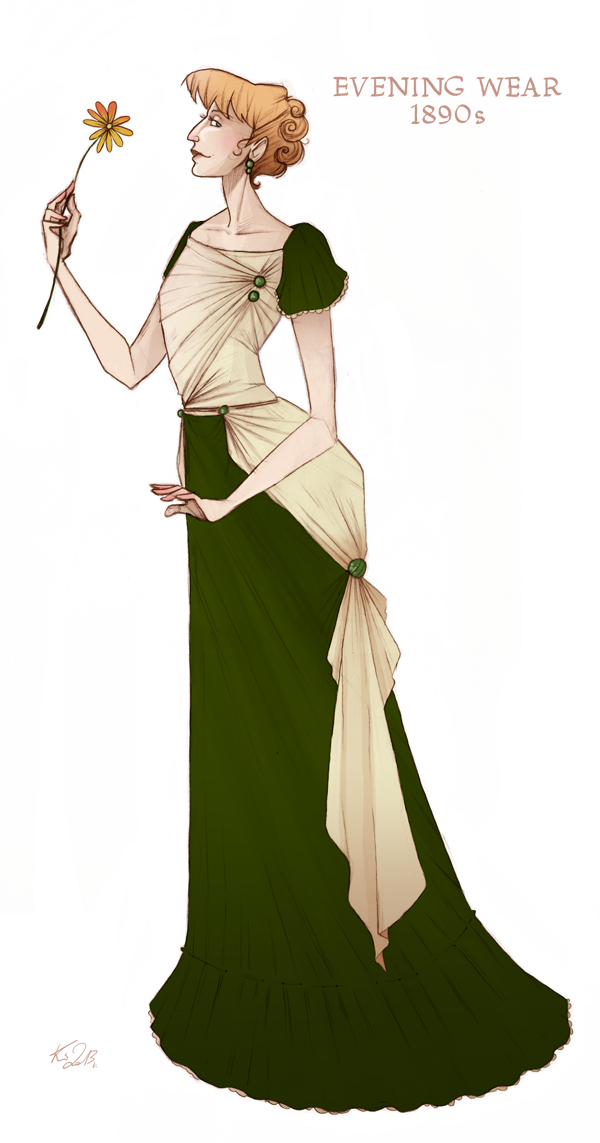 Character Design History : History fashion and character design on