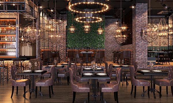 Loft Restaurant Design.