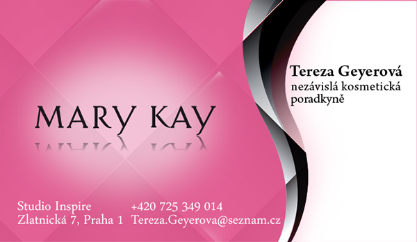 Business Card Mary Kay stylist on Behance