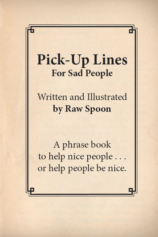 Up sad lines pick DEPRESSING PICK