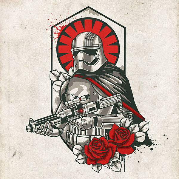 Star Wars 7 Old School Tattoos On Wacom Gallery
