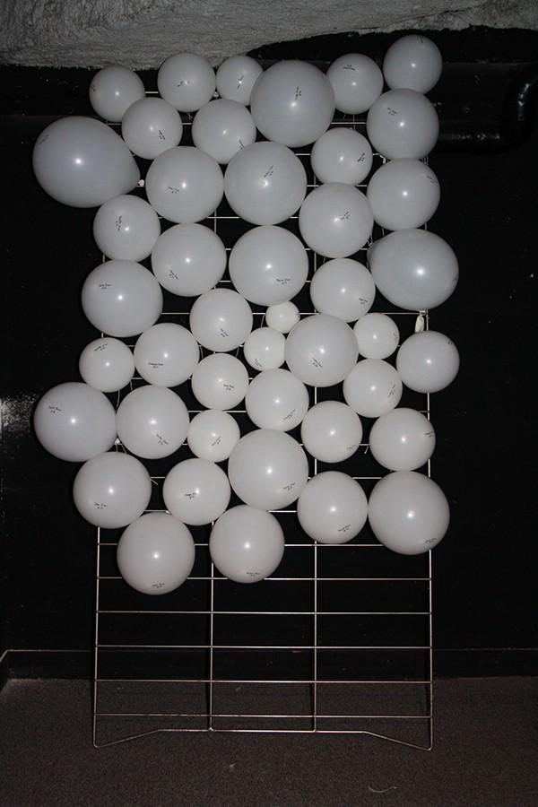 Workshop Ballons souffle Vie groupe concept Collection immaterielle