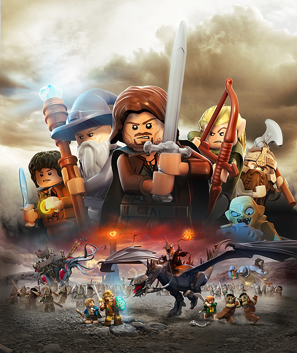 Lego The Lord Of Rings On Behance