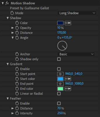 MotionShadow - Free AE Preset on Behance