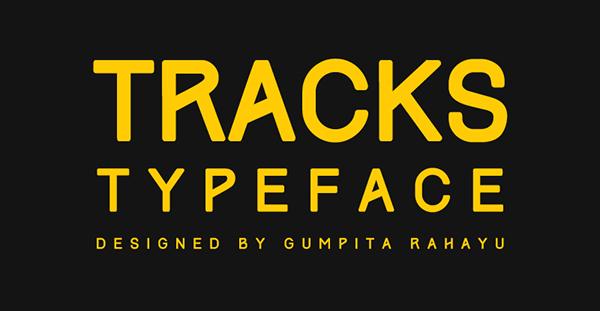 Tracks Font Download