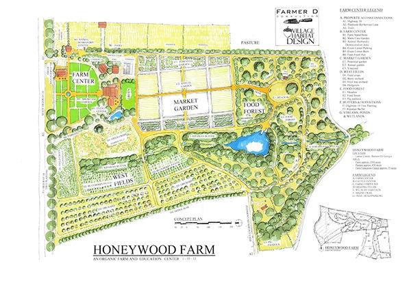 Honeywood Farm In Barnesville Georgia Usa On Behance: 1 acre farm layout