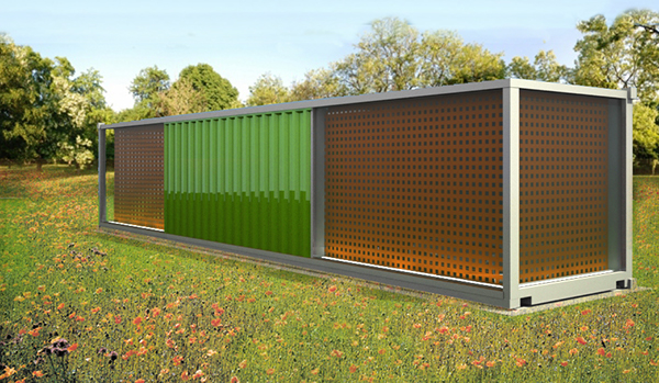 r am nagement d 39 un container en habitation on behance