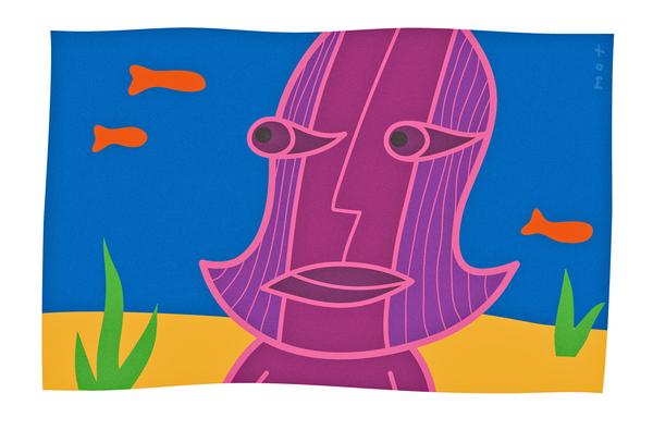 Mot Tom Sawyer Paintings reywasmot art artist graphics faces