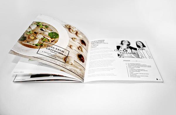 cookbook book taste recipe cooking Culinary kitchen natalia lachiewicz minimalistic Food  print White