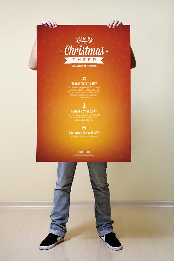 細緻的23個聖誕節海報欣賞