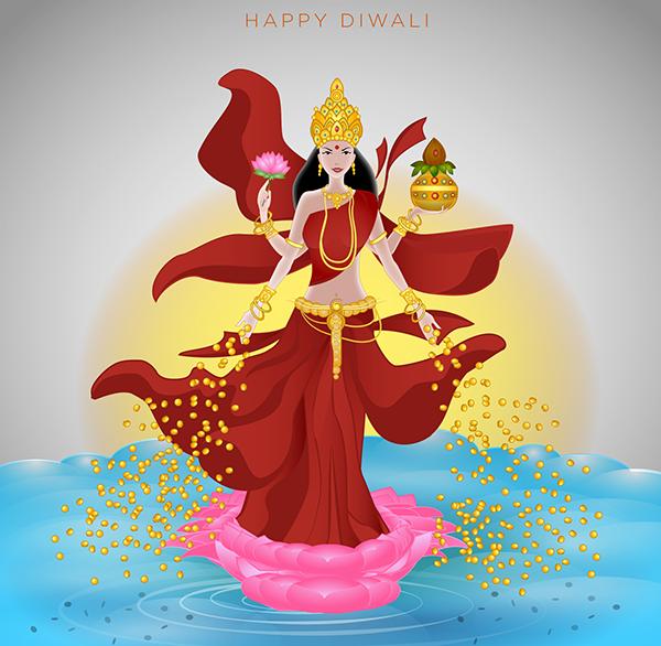 Card design for diwali greetings on behance m4hsunfo