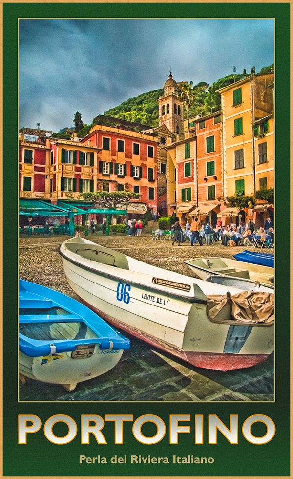 Italian Riviera Posters On Ccs Portfolios