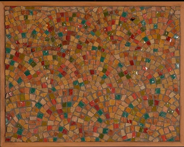 Fine Art Mosaic Craft Mosaic Garden Mosaic Mosaic Fan Reproduction