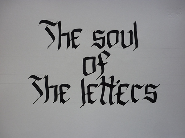 lettering HAND LETTERING black letter black calligraphy characters