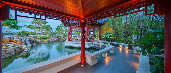Casey Key Pagoda Garden On Behance