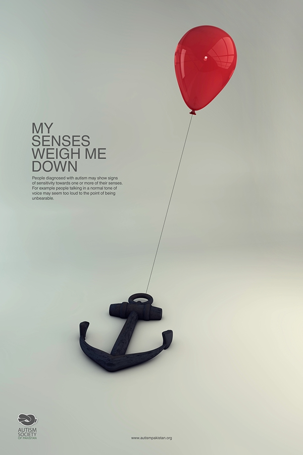 autism awareness campaign on behance