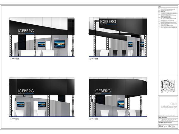 Exhibition Stand Design Presentation : Exhibition stand design concept is ltd on behance