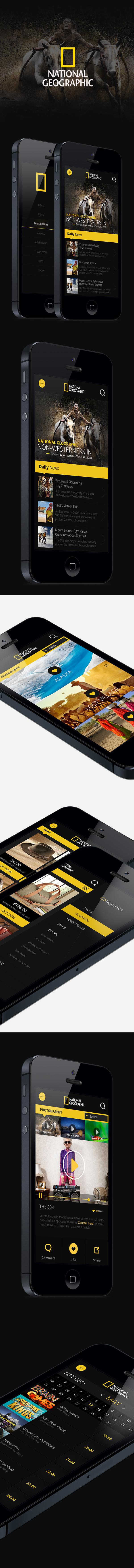 national geographic NATGEO app iphone