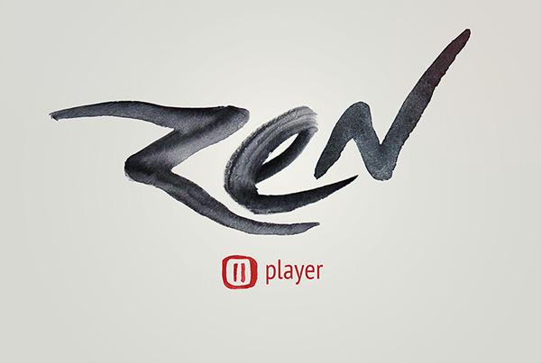 zen  player  stupid casual  gravel  branding