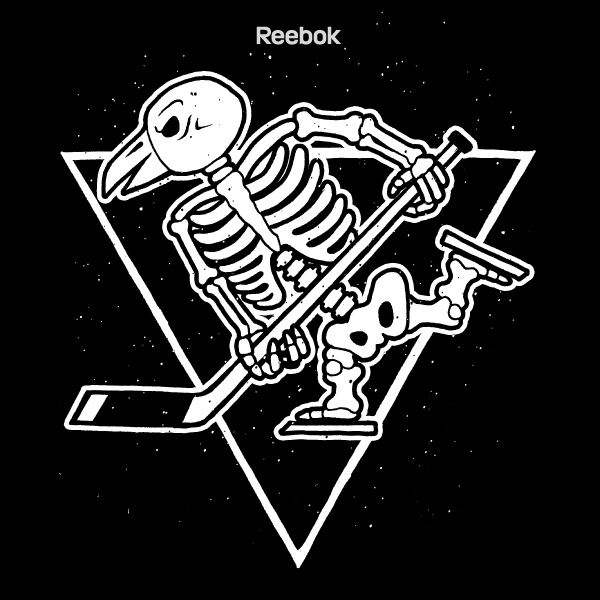 pittsburgh penguins halloween tee on behance
