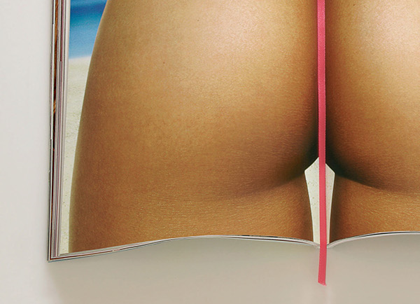 bikini  Sexy  Pink   Hot  WOMAN  ass  brazil  micro bookmark  Magazine   Beach  sun  tan sea