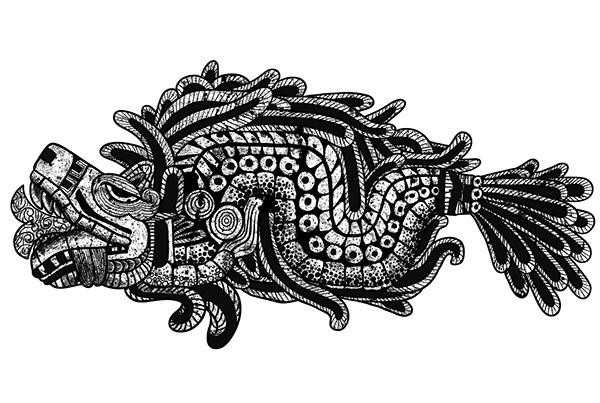 Quetzalcoatl Tattoo On Behance